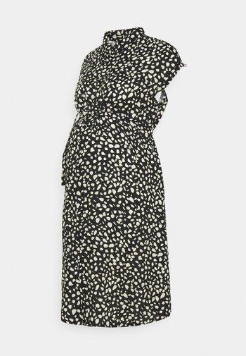 PEBBLE DRESS - Sukienka koszulowa - black