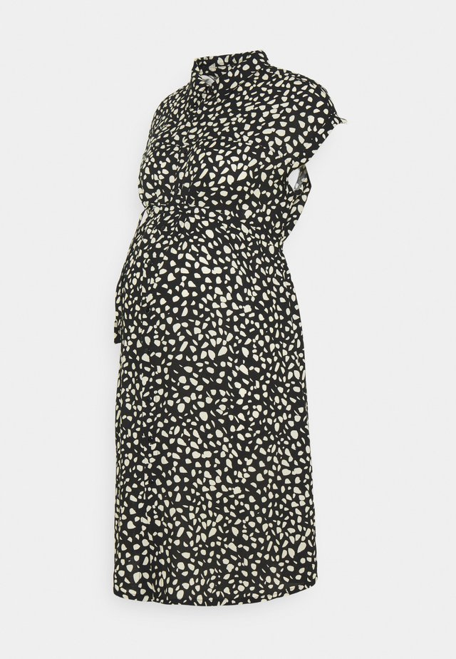 PEBBLE DRESS - Robe chemise - black