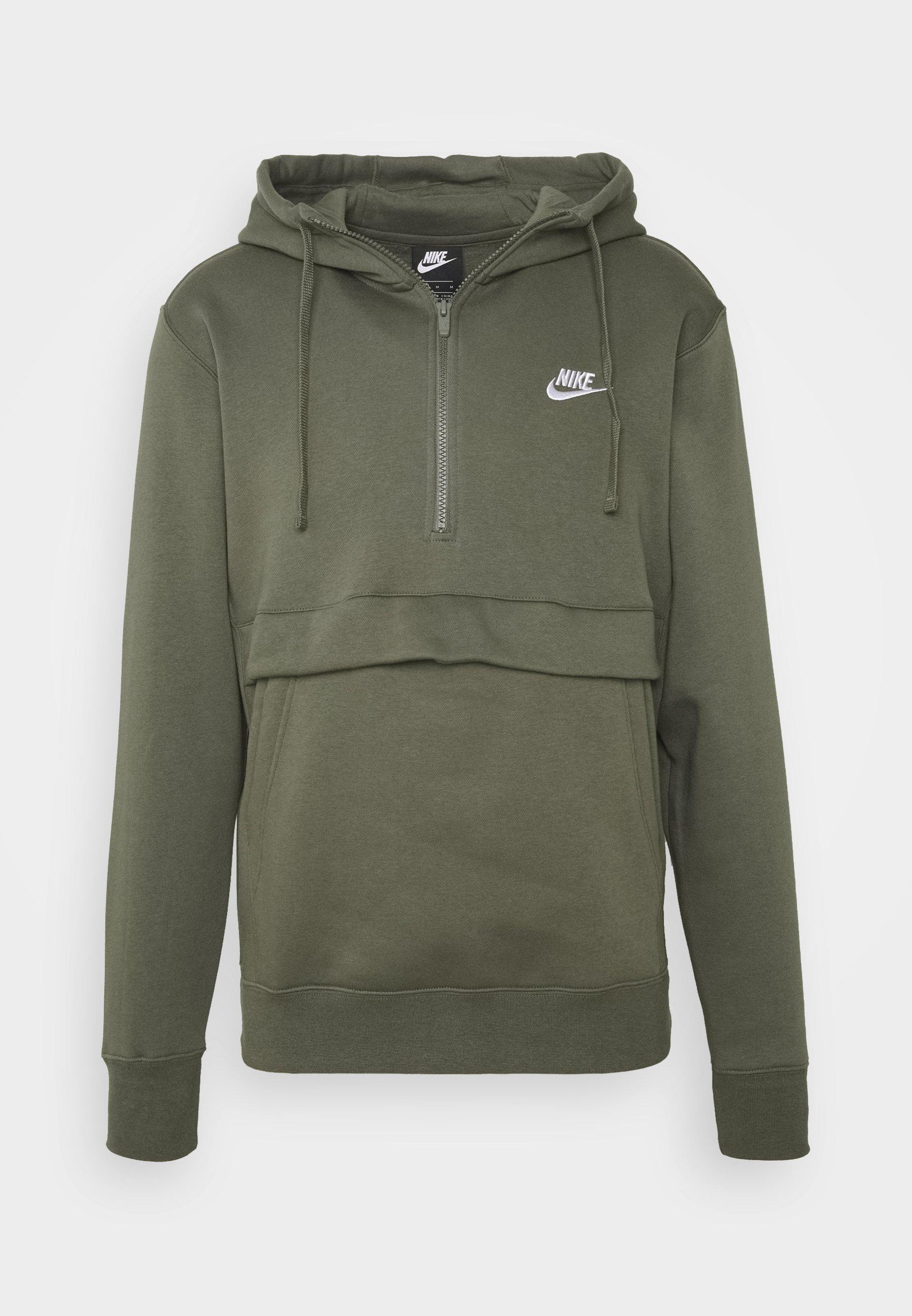 Nike Sportswear Club Hoodie - Twilight Marsh/mørkegrønn