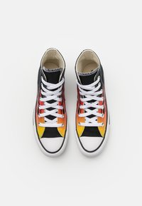 Converse - CHUCK TAYLOR ALL STAR UNISEX - Sneakers high - black/enamel red/fresh yellow - 3