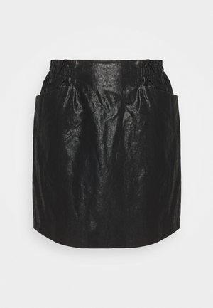 ONLDARLING SKIRT - Mini skirt - black