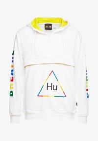 adidas Originals - PHARRELL WILLIAMS 3 STREIFEN HOODIE - Huppari - white - 4