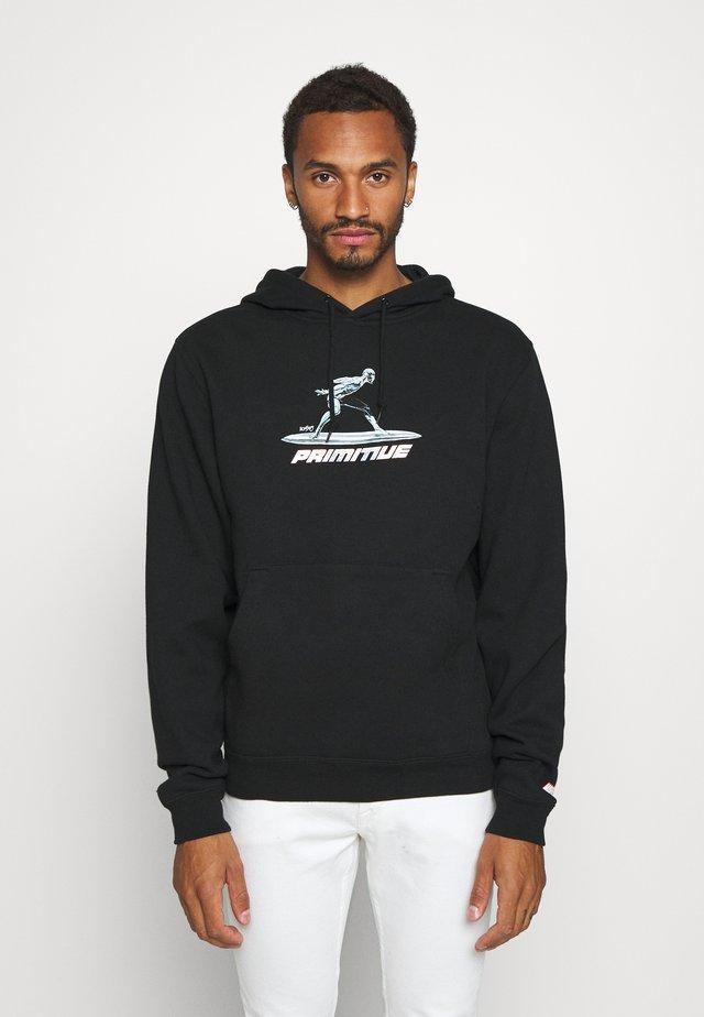 SURFER HOOD - Felpa con cappuccio - black