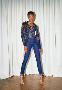 Versace Jeans Couture - Zip-up sweatshirt - black/multi - 2