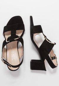 Brenda Zaro Wide Fit - WIDE FIT POLAR NEW - Sandals - black - 3