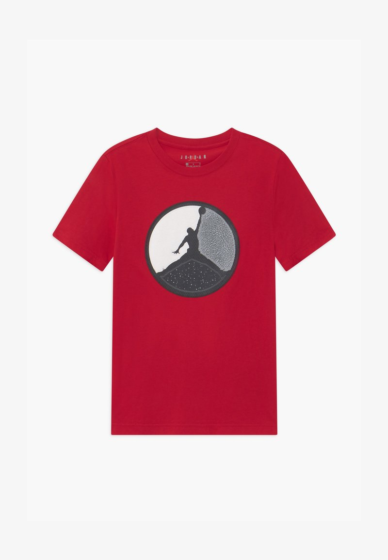 Jordan - PATCH WORK - T-shirt print - gym red