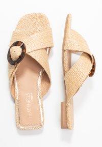 Head over Heels by Dune - LISAA - Pantofle - natural - 3