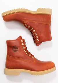 "Timberland - 1973 NEWMAN6"" BOOT WP - Lace-up ankle boots - rust - 1"