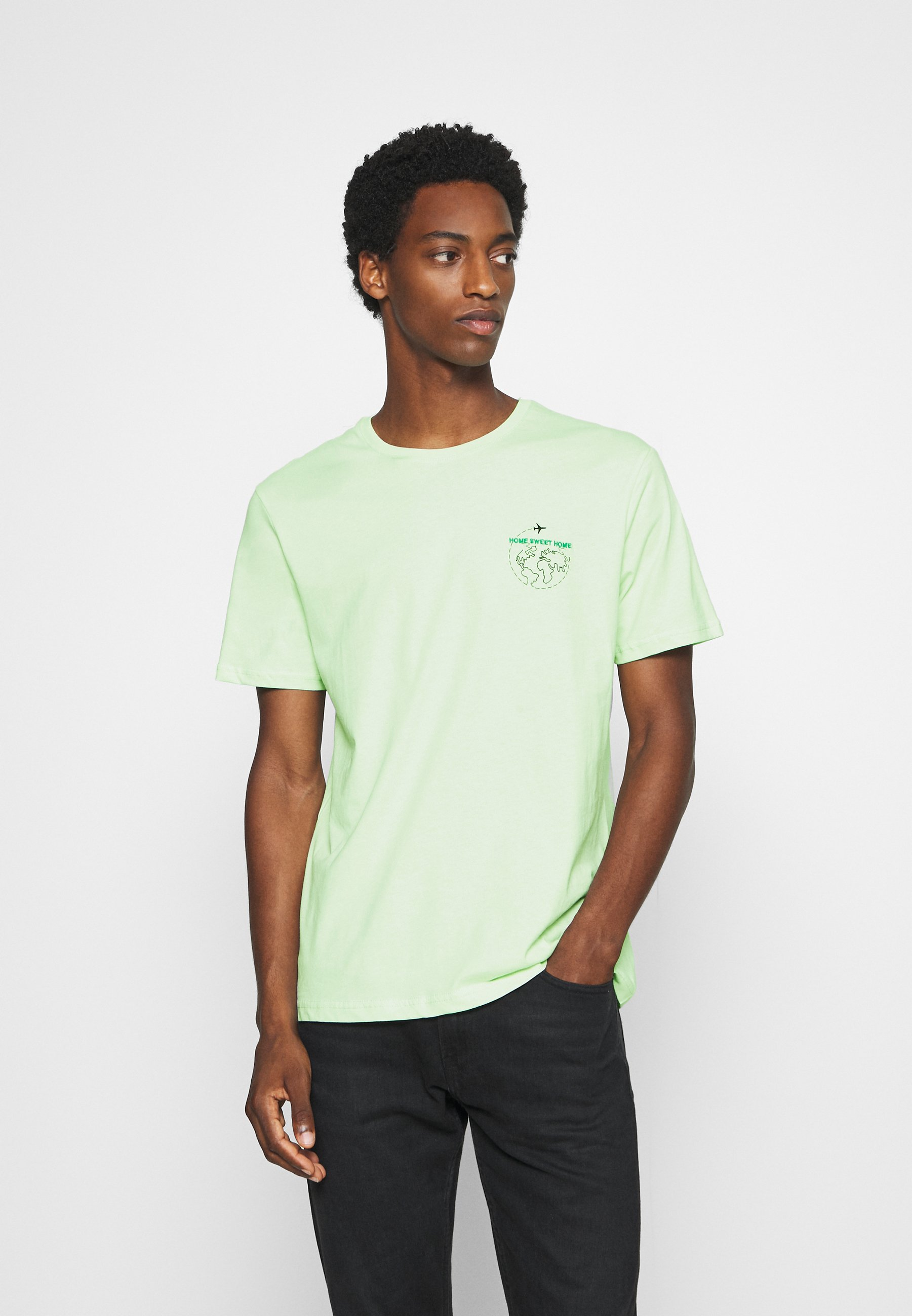 Key Largo T BREAD NEW - T-shirts - bottel green