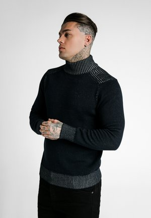 TURTLE NECK JUMPER - Svetr - navy