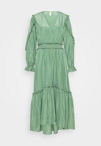 YAS - YASORLEANS DRESS SHOW - Długa sukienka - dark ivy - 4