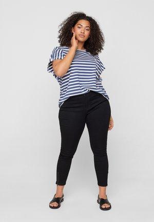 AMY - Slim fit jeans - black