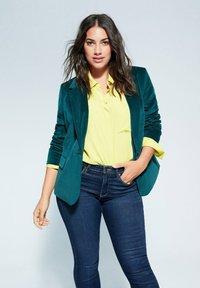 Violeta by Mango - VALENTIN - Slim fit jeans - dunkelblau - 3