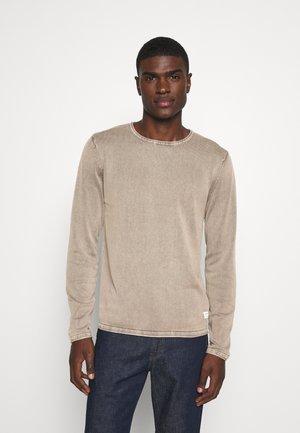 JJELEO  - Stickad tröja - crockery