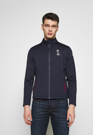 FULL ZIP - Training jacket - navy blue