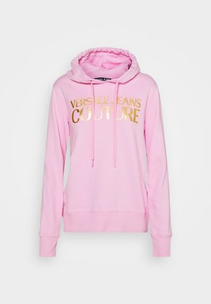 Bluza z kapturem - pink confetti