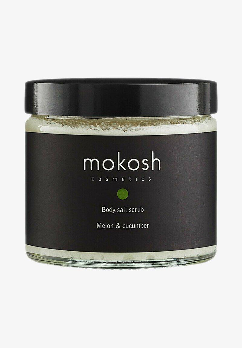 Mokosh - KÖRPERSALZPEELING - MELONE & GURKE - Body scrub - -