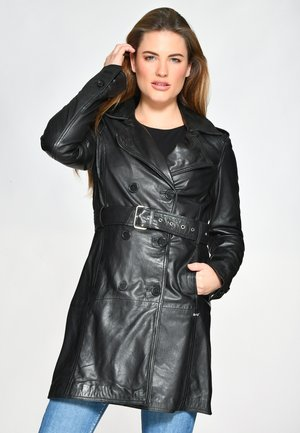 CULIMA - Trenchcoat - black