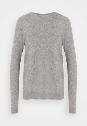 VMDOUCE FRENCH O NECK - Pullover - medium grey melange