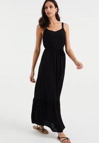 WE Fashion - Maxi dress - black - 0