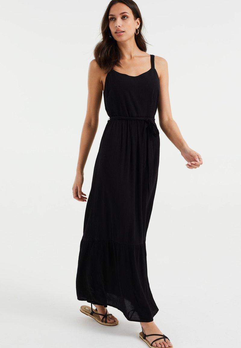 WE Fashion - Maxi dress - black