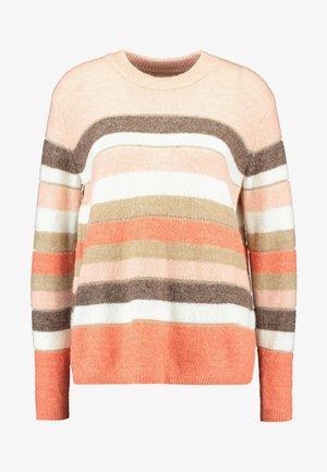 KAWENNI  - Pullover - peach/beige melange
