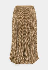 Polo Ralph Lauren - RESE SKIRT - Áčková sukně - brown/tan houndst - 1