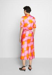 CECILIE copenhagen - GYRITH - A-line skirt - tangerine - 2