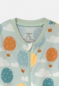 Lindex - BALLOONS & CLOUDS UNISEX - Pyjamas - light aqua - 2