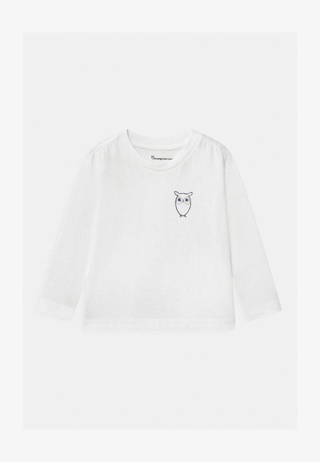 FLAX OWL - Pitkähihainen paita - white