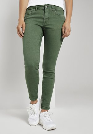 JONA EXTRA PUSH-UP - Jeans Skinny Fit - vintage green