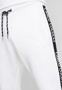 Carlo Colucci - Tracksuit bottoms - white - 4