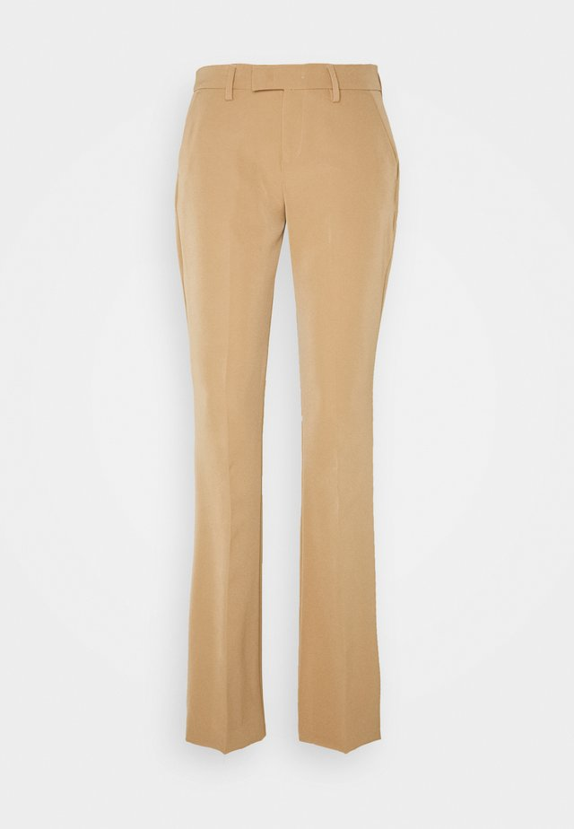 PANT BEAT LUXURY  - Pantaloni - tobacco brown