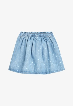 BUNNY POCKET - Denim skirt - blue