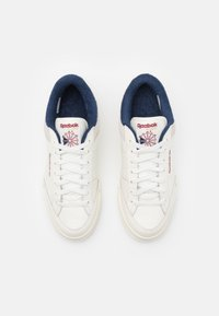 Reebok Classic - AD COURT - Trainers - chalk/classic burgundy/vector navy - 3