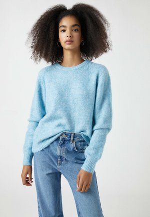 Sweter - blue-grey