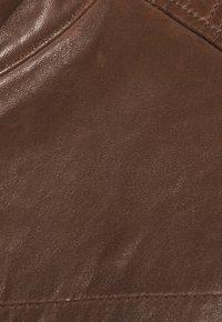 Strellson - BRIXTON - Leather jacket - cognac - 6