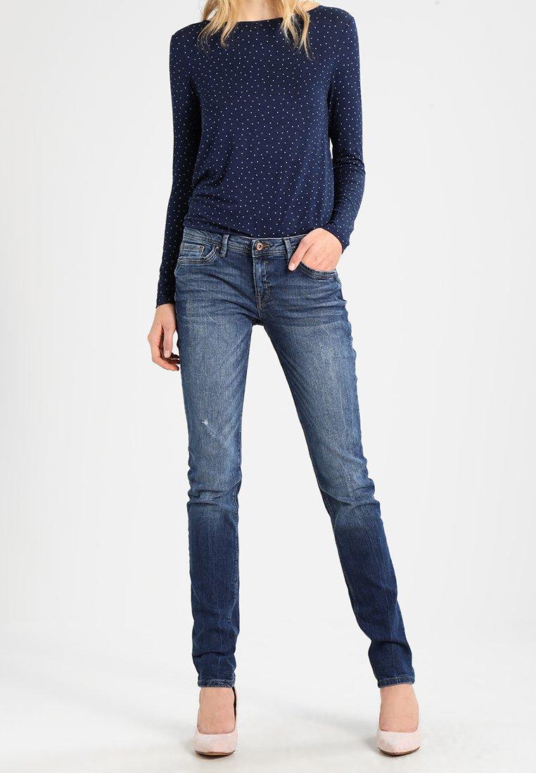 edc by Esprit - OCS 5  - Jeans Slim Fit - blue dark wash