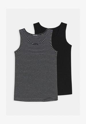 TANKTOP 2 PACK - Undershirt - black