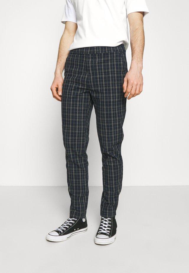 EWAN PANTS - Spodnie materiałowe - dark navy