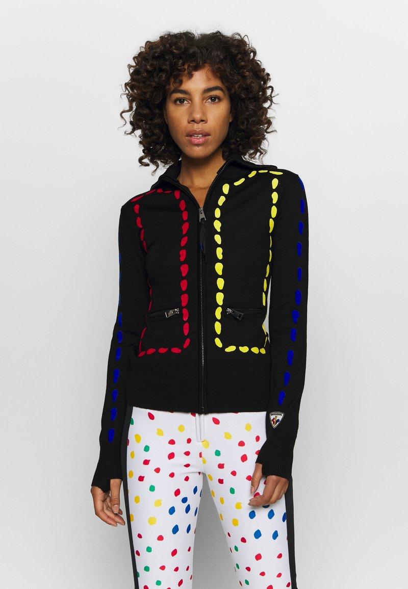 Rossignol - INDI FULL ZIP - Zip-up hoodie - black