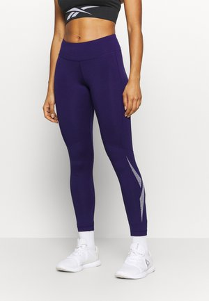 LOGO - Leggings - purple