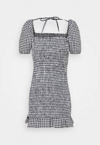 AIDA  - Shift dress - black/white