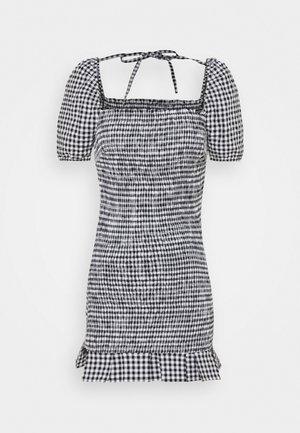 AIDA  - Pouzdrové šaty - black/white
