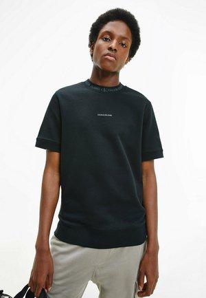 Print T-shirt - ck black