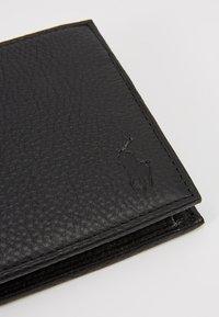 Polo Ralph Lauren - BILLFOLD - Portafoglio - black - 2