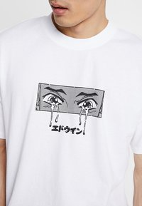 Edwin - SAD - T-shirts print - white - 5