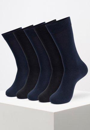 10 PAIRS - Socken - black/navy