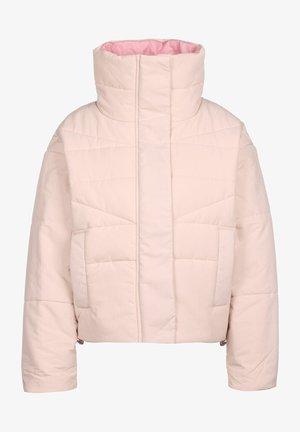 FUNNEL NECK PUFFER JACKET - Winter jacket - silt red