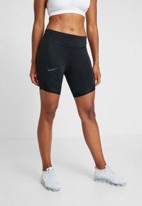 Nike Performance - BIKE SHORT AIR - Tights - black/thunder grey - 0